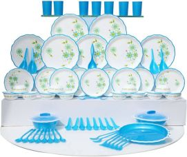 Buy Joyo Pack of 84 Dinner Set  (Plastic) for Rs. 7,150