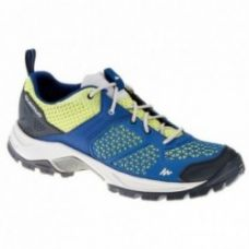 Forclaz 500 Fresh women's Hiking Shoes - Dark blue/Aniseed green for Rs. 2,499