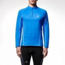 Buy RUN WARM MEN'S RUNNING LONG-SLEEVED JACKET BLUE for Rs. 699