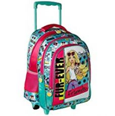 Barbie Polyester 18 inch Turquoise Children's Backpack (MBE -  MAT140) for Rs. 1,559
