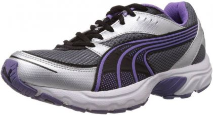 Buy Puma Axis II Wn's IDP Running Shoes  (Purple, Silver) for Rs. 1,749