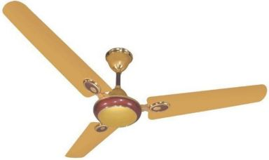 Get 67% off on Blue Sapphire Fusion 48 Ceiling Fan Golden 3 Blade Ceiling Fan  (Blue)