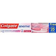 Buy Colgate Sensitive Original Toothpaste - 80 g with Free Toothbrush Worth 35 from Amazon