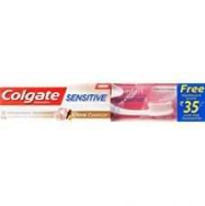 Buy Colgate Sensitive Clove Essence Toothpaste - 80 g with Free Toothbrush Worth 35 from Amazon