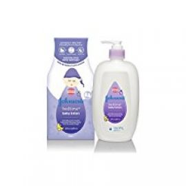 Buy Johnson's Bedtime Baby Lotion (500ml) from Amazon