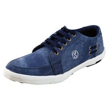 Buy Freedom Daisy Pair Of Blue Men Lace-Up Style Casual Shoes/Sneakers from Amazon