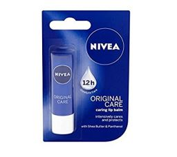 Nivea Lip Balm, Original Care, 4.8 g for Rs. 130