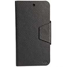 Case Mate Slim Folio Flip cover for MicroMax Canvas A1 (Black) for Rs. 109