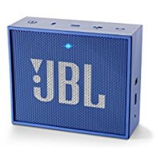 Buy JBL GO Portable Wireless Bluetooth Speakers (Blue) from Amazon