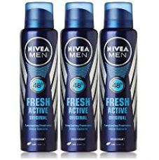 Buy Nivea Fresh Active Deodorant, 150ml (Buy 2 Get 1 Free) from Amazon