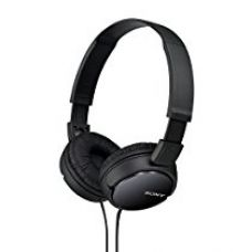 Buy Sony MDR-ZX110 On-Ear Stereo Headphones (Black) from Amazon