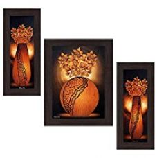 Wens 'Brightened Decor' Wall Art (MDF, 29.5 cm x 24.5 cm, WSP-4255) for Rs. 523