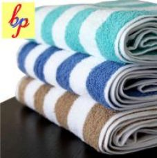 Bpitch Single Polycotton BATH TOWEL(60x30 inches) Multicolor for Rs. 199