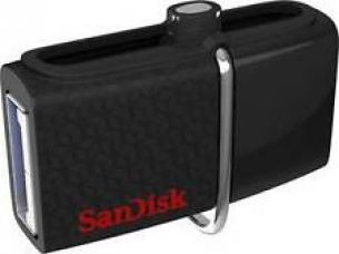 SanDisk Ultra Dual 64GB USB Drive 3.0 Black ( up to 150 MB/s ) ( SDDD2-064G-G46 ) for Rs. 1,399