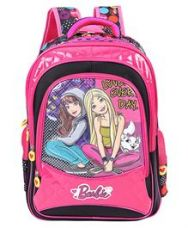 Get 20% off on Barbie And Blissa School Bag Pink & Black - 18 inches