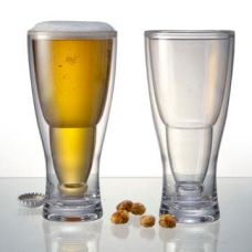 Set of 2 Hopsy-Turvy Upside Down Beer Glass for Rs. 1,199