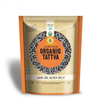 Buy Organic Tattva Urad Dal Black Split, 500g from Amazon