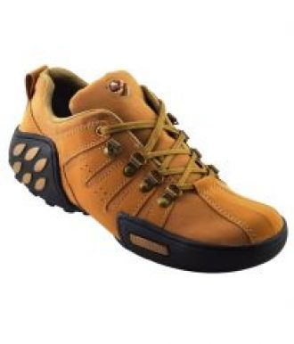 Elvace Tan Woodleaf Sneakers Men Shoes-7025a for Rs. 599