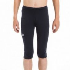 Buy Kalenji Kid's Running Cropped Tights - Black for Rs. 599