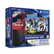 Sony PS4 500 GB Slim Console (Free Games: Horizon Zero Dawn, Ratchet and Clank and Driveclub) for Rs. 27,250