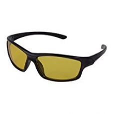 Buy FADDISH Wrap Unisex Sunglasses for Night Drive - (BO63UNPPBYND|55|Yellow) from Amazon