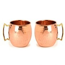 Frestol Copper Handmade Cups/Mugs Serveware, Tableware having Capacity 520 ML- (Set of 2) for Rs. 847