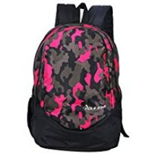 Buy POLE STAR Polyester 30Liters Black Casual Backpack from Amazon