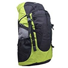 Zwart Black and Green 32 Ltrs Free Size Backpack / Rucksack for Rs. 899