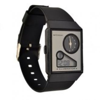 Pourni Black Watch For Women - Znw780 for Rs. 499