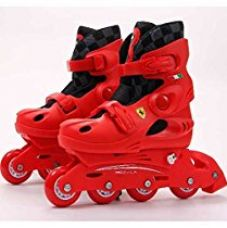 Buy SWAGSPIN FERRARI FK32 Original INLINE Skate RED SIZE 34-37 from Amazon