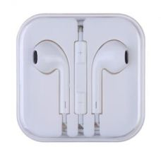 Flat 50% off on Earphones With Mic - White