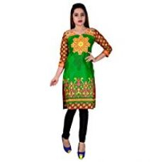 Buy SD Fabrics Women's Cotton Unstitched Kurti (Multi-Color) from Amazon