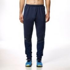 Flat 46% off on Elioplay Men's Running Trousers - Blue