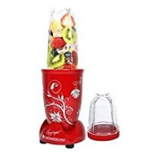 Wonderchef 400-Watt Nutri-Blend with Free Servin Glass Set (Red) for Rs. 2,510