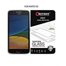 Buy Chevron Motorola Moto G5 [5 inch] Tempered Glass from Amazon