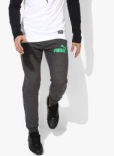 Puma Ess No.1 Dark Grey Joggers for Rs. 1100