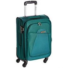 Buy Safari Polyester 54.5 cms Green Softsided Suitcase (Flipper-4wh-55-Green) from Amazon