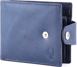 Buy WildHorn Blue Men's Wallet (WH275GW) from Amazon