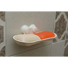 Lifestyle Wall Mount Suction Soap Holder Rack Stand for Rs. 399