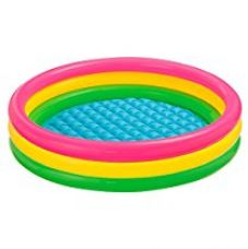 Buy Intex Sunset Glow Baby Pool, Multi Color from Amazon