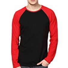 Buy INKOVY Men's Raglan Neck Full Sleeve Cotton T-Shirt from Amazon