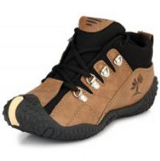 Get 37% off on Clymb Men's Brown and Black Casual Shoes
