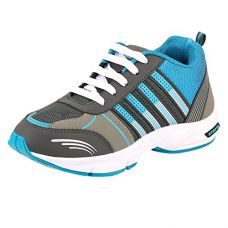 Buy Chevit Men's Blue Stylish Running Shoes (Joggers & Sports Shoes) from Amazon