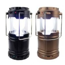 Rechargeable Emergency Solar Lantern with USB Mobile Charger,Solar Lights without Torch (Multicolour) ONLY 1 piece for Rs. 300