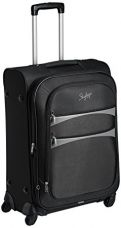 Buy Skybags Polyester 67 cms Black Softsided Suitcase (STROVW67BLK) from Amazon