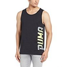 Buy Puma Men's Round Neck Cotton T-Shirt from Amazon