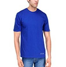 AWG - All Weather Gear Men's Polyester Round Neck T-shirt - Royal Blue - AWGDFT-RB-L for Rs. 239