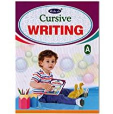 Cursive Writing English Books Set of 7 for Rs. 200