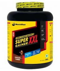 Get 25% off on MuscleBlaze Super Gainer XXL 3 kg Chocolate Mass Gainer Powder