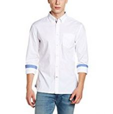 Buy Marks & Spencer Men's Cotton Regular Fit Casual Shirt from Amazon